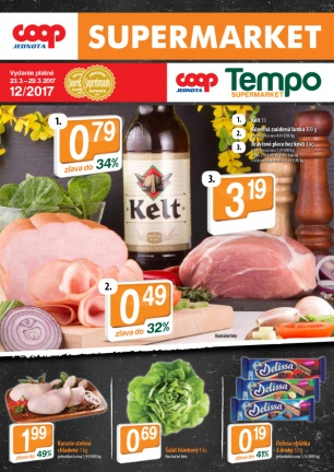 Leták - SUPERMARKETY